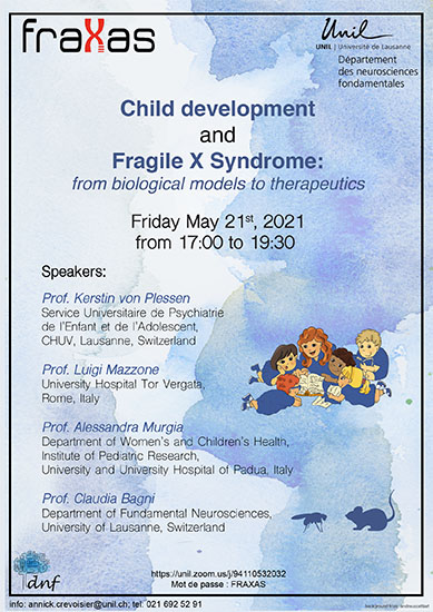 Child development and Fragile X Syndrome: from biological models to therapeutics
