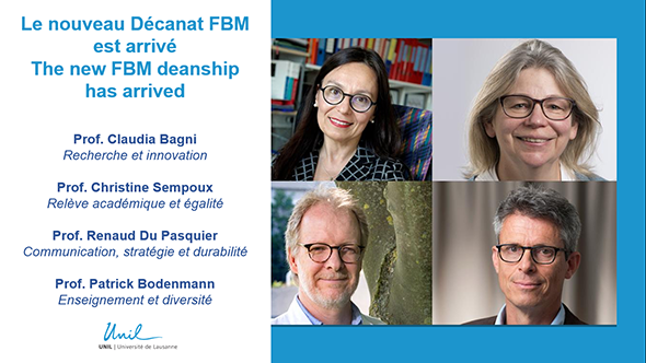 The new FBM deanship has arrived